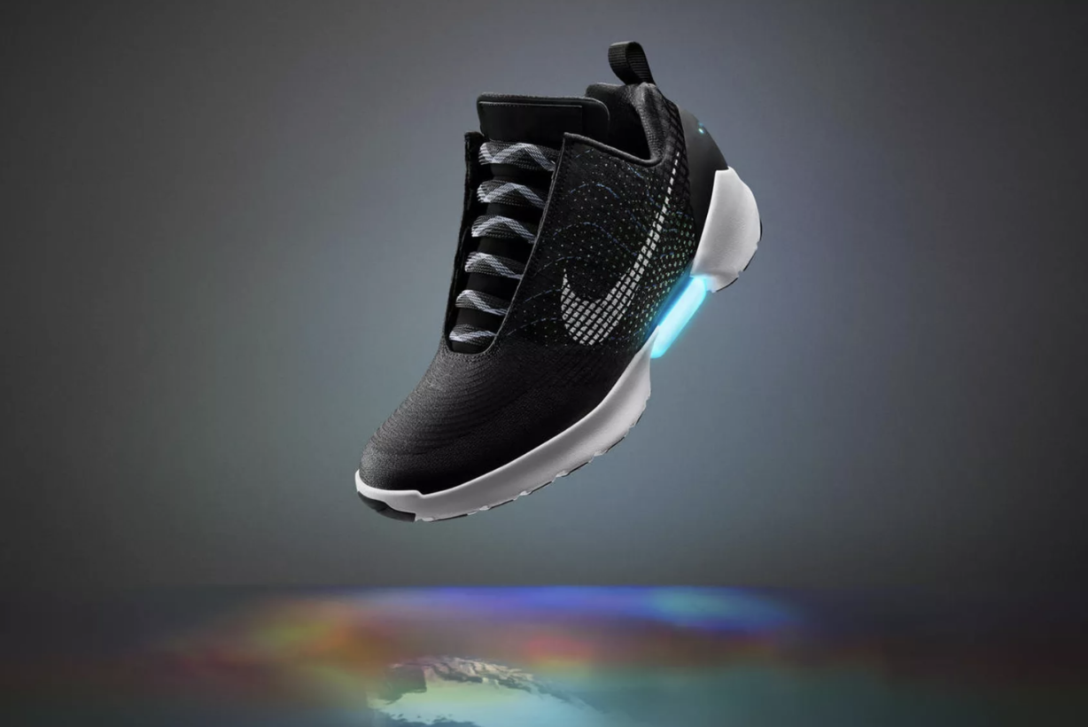 durable modeling You can get Nike  s self-lacing shoe December 1 if ... 305258871