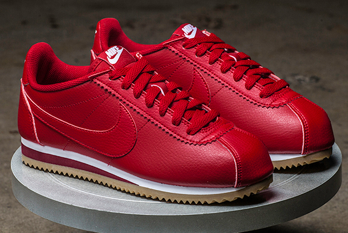detailed look c1a2f fe292 cheap Nike Classic Cortez Leather Comet Red - Sneaker News
